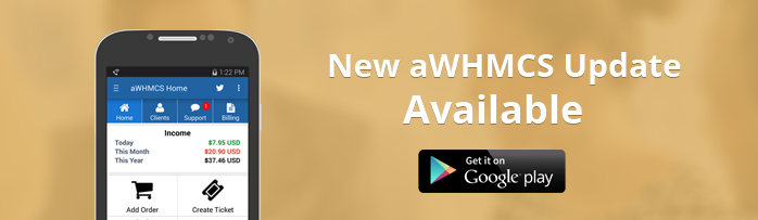 App for WHMCS